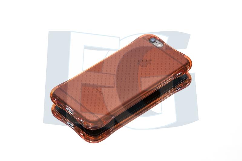 Silikónové púzdro Ginger pre Iphone 6   6s červené (nárazuvzdorné) 690e9804cde