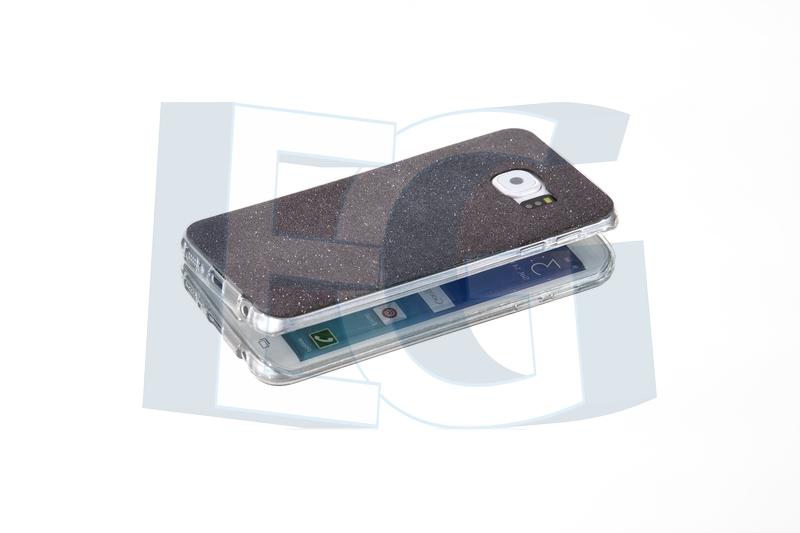 Silikónové púzdro Trblietavé pre Iphone 6   6s čierne 7561b5af04b