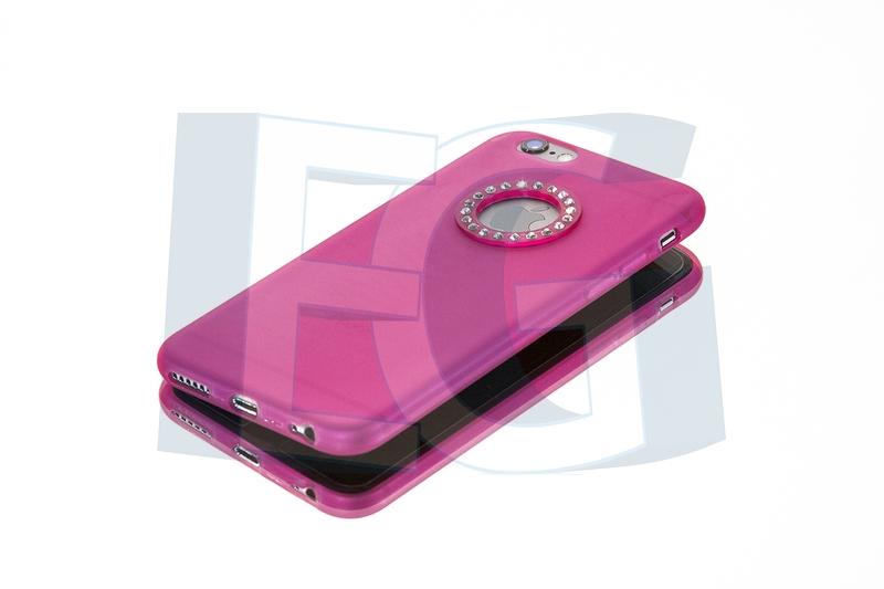 Silikónové púzdro ADEL pre iphone 4   4s ružové hot pink 92ec24071d3