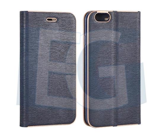 Kožené knižkové púzdro Vennus pre iphone 6   6s modré 10a789e4c5a