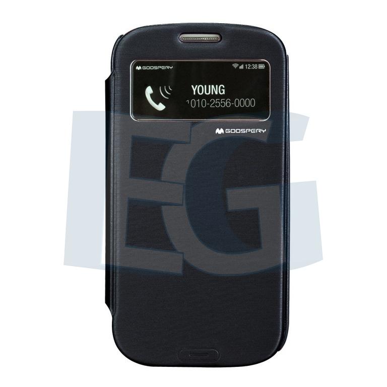 Púzdro Easy View Cover pre Iphone 5   5S čierne 38ee956033b
