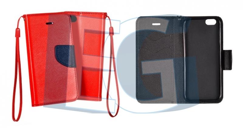90eae5601 Knižkové púzdro Fancy pre Samsung Galaxy ace 4 / g357 červeno modré