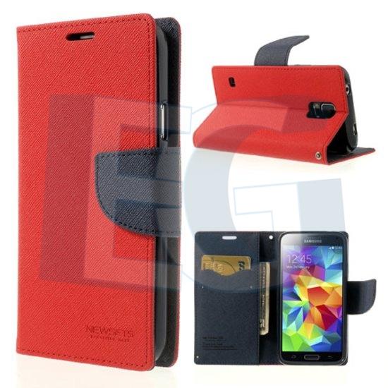 Púzdro mercury FANCY DIARY CASE pre Iphone 5 5S červeno modré a788f66fdf7