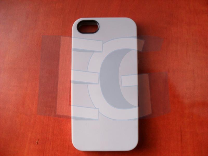 Gumený kryt pre iphone 5   5s svetlo sivý 12a561d5d40