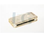 Silikónové púzdro AMANDA pre iphone 5   5s zlaté 2636d90b14e