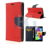 Púzdro mercury FANCY DIARY CASE pre Samsung Galaxy S5   G900 červeno-modré 6d67ca447a3